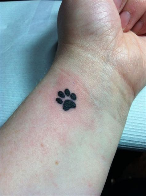 paw print wrist tattoo 15 wrist tattoos design