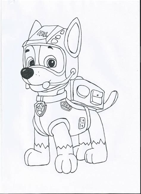 coloring page paw patrol everest 29 best coloring pawpatrol images on pinterest coloring