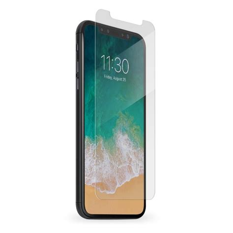 Lg X Screen Tempered Glass B Top Clear iphone x glass screen protectors bodyguardz 174