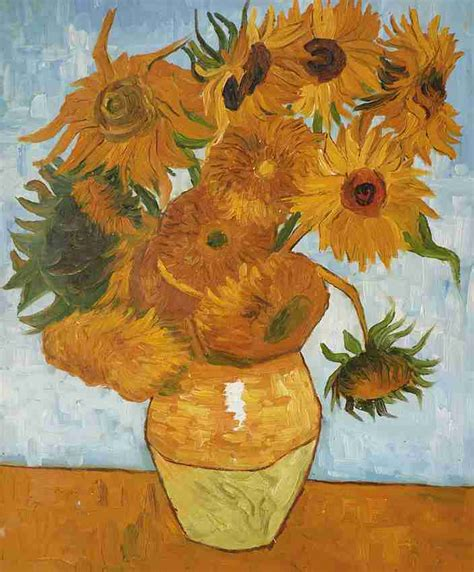 van gogh sonnenblumen keilrahmenbild auf leinwand ebay van gogh sonnenblumen keilrahmenbild auf leinwand ebay