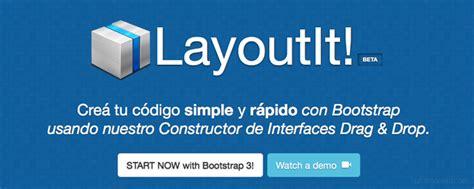 layoutit que es recursos gratis para bootstrap 25 enlaces de oro