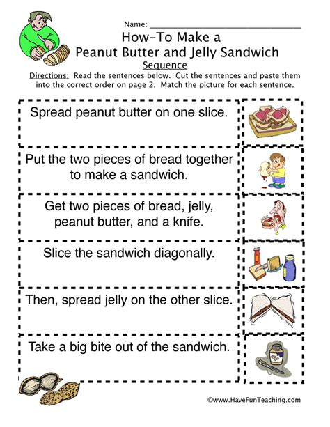 Sequencing Worksheets 2nd Grade by Sequencing Worksheets Teaching