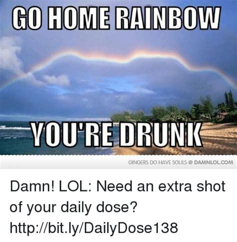 Damn Lol Memes - 25 best memes about go home rainbow go home rainbow memes