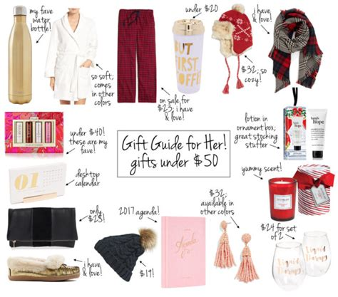 affordable holiday gift guide for her just a trace gifts