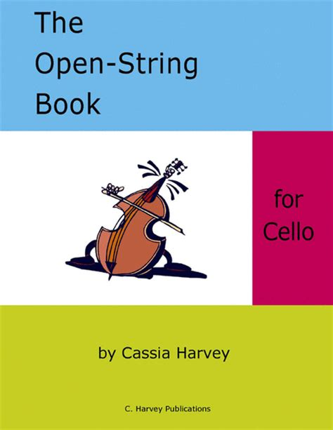 String Book - the open string book for cello sheet by cassia