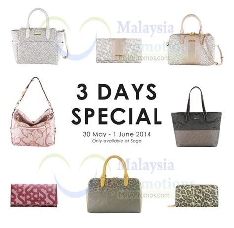Promo Tas Import Special Exsclusive Terbatas Fashion Bag Batam Impor 61 sembonia 3 days special promo kl sogo 30 may 1 jun 2014