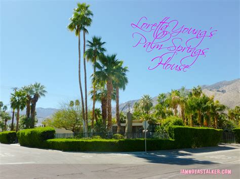 happy house palm loretta young s palm springs house iamnotastalker