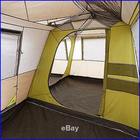 Ozark 16 X 16 Cabin Tent by Ozark Trail 16 X 16 Instant Cabin Tent Sleeps 12 Brown