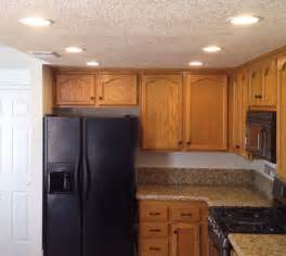 Recessed Kitchen Lighting How To Update Kitchen Lights Recessedlighting