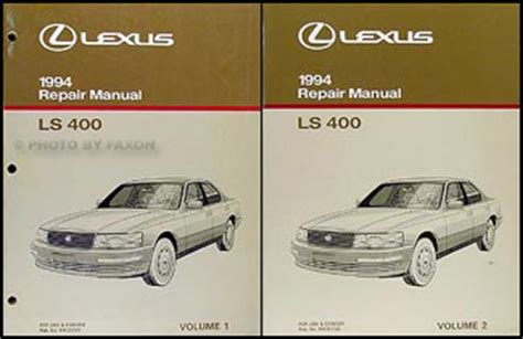 car repair manuals download 1994 lexus sc user handbook 1994 lexus ls 400 owners manual original