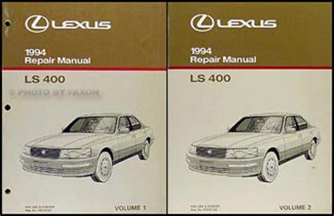 shop manual ls400 service repair 1994 book ls 400 haynes 1994 lexus ls 400 owners manual original