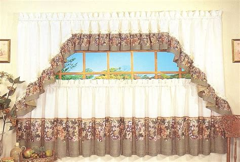 Tuscany Kitchen Curtains Tuscan Kitchen Curtains Clearance