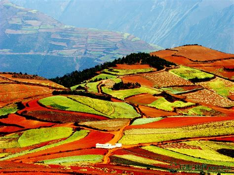 red land the red land in dongchuan red earth in dongchuan