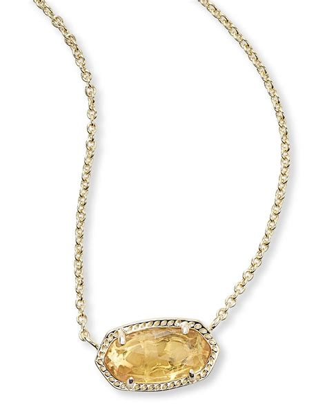 november birthstone jewelry kendra november birthstone necklace in elisa