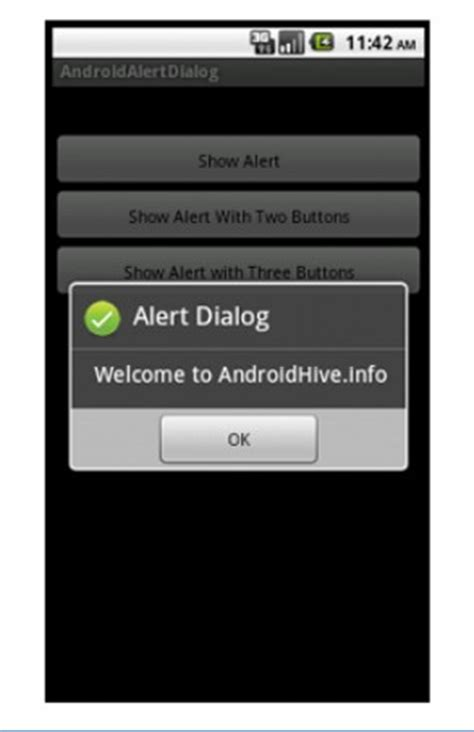 android dialog exle android alertdialog exles creating your own alerts