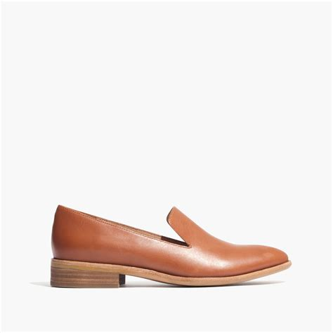 madewell loafers madewell the orson loafer in brown lyst