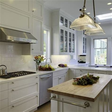 Kitchen Island Countertop White Kitchen Cabinets With White Corian Countertop The