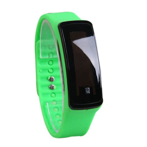 Digital Sport Intl fashion sport led silicone rubber touch screen