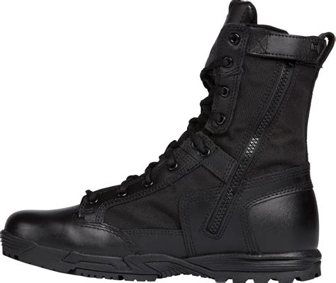 5 11 Tactical Boots 8 Black 5 11 tactical skyweight wp with zipper black boot 12321