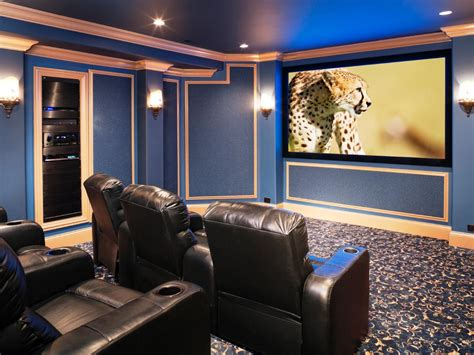 family friendly home theaters from diynetwork home theater media room design ideas how