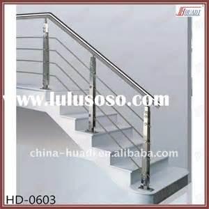 Steel Handrail Design Stainless Steel Stair Railing Handrail For Outdoor Steps