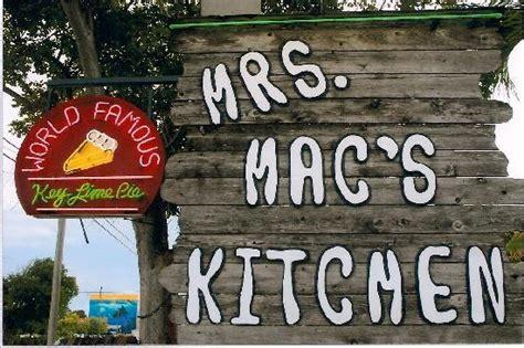 Mrs Mac Kitchen by 3 Days In Key Largo Travel Guide On Tripadvisor