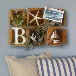 Themed Wall Decor by Cottage Nautical Collage Wall Home Decor By J3decor