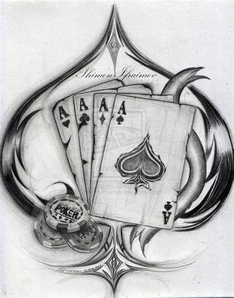 Die 25  besten Ideen zu Poker Tattoo auf Pinterest   Poker Tätowierung, Glücksspiel Tattoos und