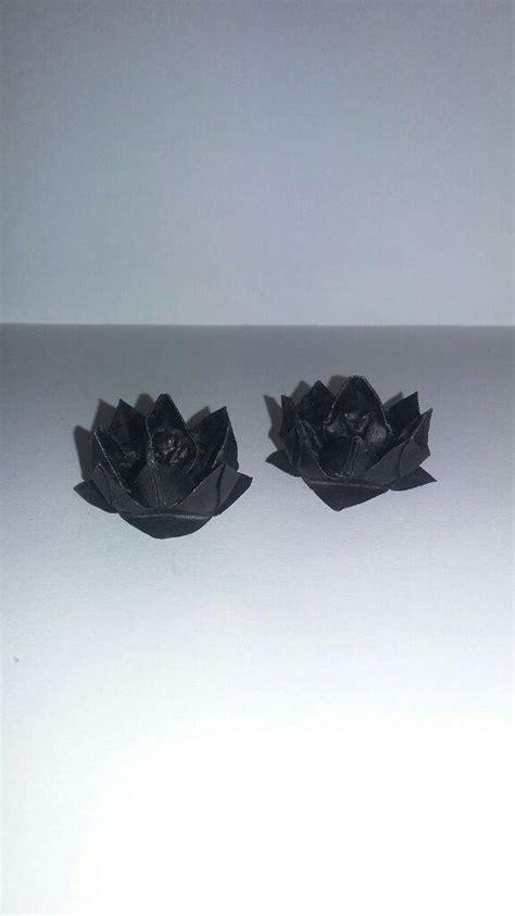 Origami Black Lotus - origami black lotus crafty amino