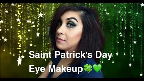 eyeshadow tutorial day saint patrick s day eye makeup tutorial beautician today