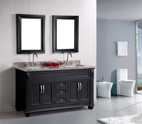 hudson bathrooms hudson 60 quot double bathroom vanity set traditional