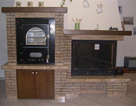 rivestimento forno a legna camino forno rustico in travertino scabas modello ortisei