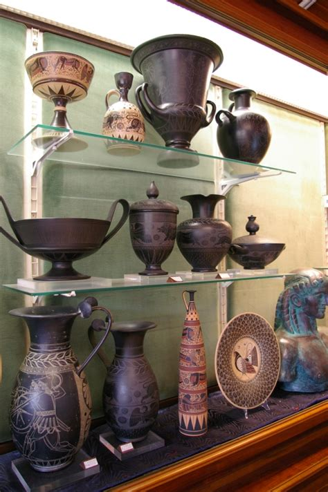 vasi etruschi buccheri pierluigi berni sovana gr