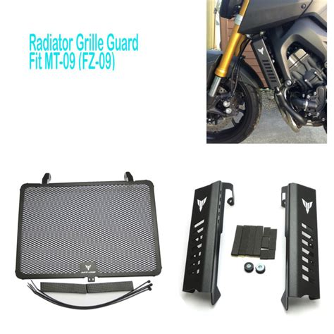 aliexpress buy mt09 fz09 radiator grills grille guard cover protector for yamaha mt09