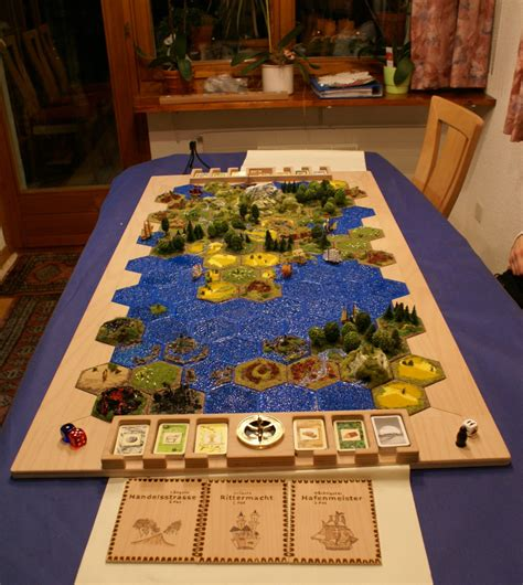 the coolest settlers of catan board i seen
