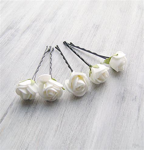 bobby pins roses bridal pins woodland