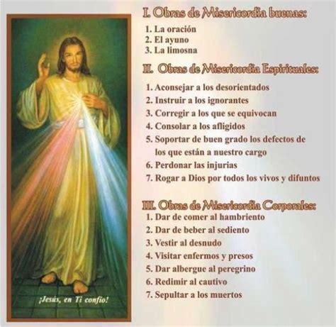 imagenes de misericordia espirituales amor eterno 14 obras de misericordia corporales y