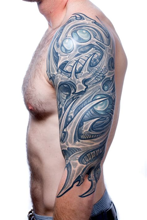 biomechanical tattoo san jose ron earhart atak
