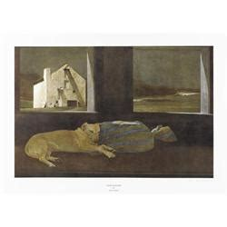 Andrew Wyeth Sleeper by Andrew Wyeth Sleeper Collotype Signed
