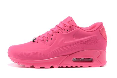2015 nike wmns air max 90 womens running shoes all pink