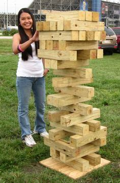 how to make backyard jenga 1000 images about backyard games on pinterest giant