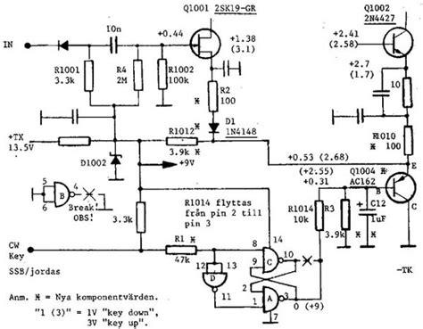 transistor ft yaesu ft 7 mods
