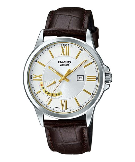 Casio E124 collection black blue white mtp e125