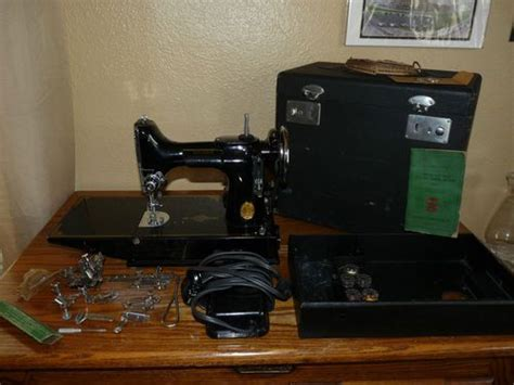 singer featherweight sewing machine 1940s 221 1 portable with vintage 1940 s singer featherweight electric portable