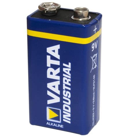 len mit batterie batterie varta industrial blockbatterie 9v