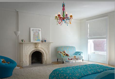 Childrens Bedroom Chandeliers White Blossom A Modern Room