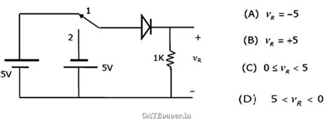 diode circuits gate questions gate questions on pn junction diode 28 images gate coaching for free ece previous gate