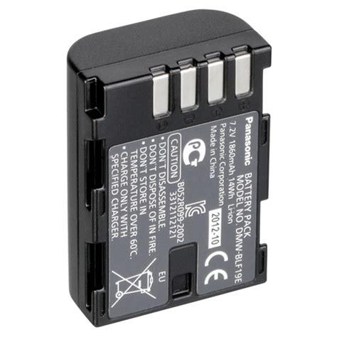 Baterai Panasonic Dmw Blf19 panasonic dmw blf19 original li ion battery pack 7 2v 1860mah