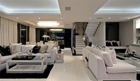 bilder modernen salons d 233 co noir et blanc pour salon en 50 id 233 es inspirantes