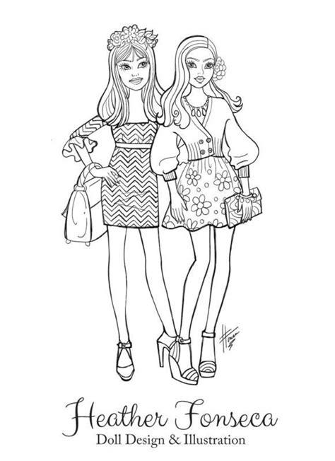 fashion coloring books fashion coloring book pages fonseca